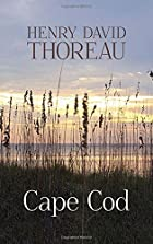 Another cover of the book Cape Cod by Henry David Thoreau