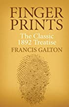 Cover of the book Finger prints by Francis Galton