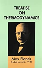 Cover of the book Treatise on thermodynamics by Max Planck