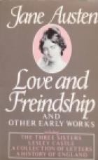 Another cover of the book Love and Freindship by Jane Austen