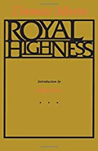 Another cover of the book Royal Highness by Thomas Mann