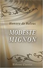 Cover of the book Modeste Mignon by Honoré de Balzac