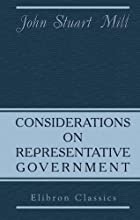 Cover of the book Considerations on Representative Government by John Stuart Mill