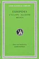Another cover of the book Euripides by Euripides