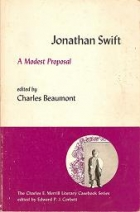 Another cover of the book A Modest Proposal by Jonathan Swift