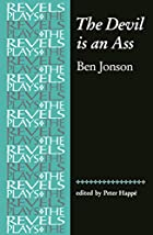 Cover of the book The devil is an ass by Ben Jonson