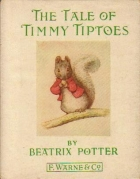 Another cover of the book The Tale of Timmy Tiptoes by Beatrix Potter