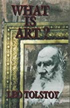 Another cover of the book What is art? by Leo Tolstoy