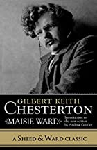 Cover of the book Gilbert Keith Chesterton by Maisie Ward