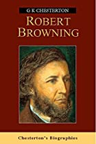 Cover of the book Robert Browning by G.K. Chesterton