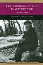 Another cover of the book The Kingdom of God Is Within You by Leo Tolstoy