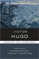 Another cover of the book The Man Who Laughs by Victor Hugo