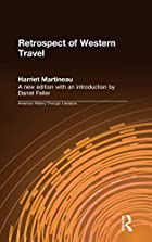 Cover of the book Retrospect of western travel by Harriet Martineau