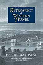 Another cover of the book Retrospect of western travel by Harriet Martineau