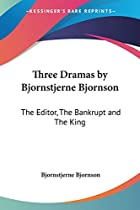 Cover of the book Three Dramas by Bjørnstjerne Bjørnson