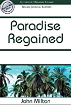 Another cover of the book Paradise Regained by John Milton