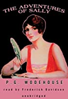 Another cover of the book The Adventures of Sally by P.G. Wodehouse