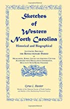 Cover of the book Sketches of Western North Carolina, Historical and Biographical by C.L. Hunter