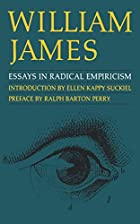 Another cover of the book Essays in radical empiricism by William James