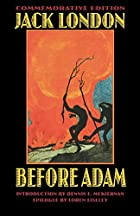 Another cover of the book Before Adam by Jack London