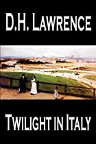 Another cover of the book Twilight in Italy by D.H. Lawrence