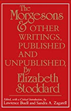 Another cover of the book The Morgesons by Elizabeth Stoddard