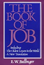 Cover of the book The Book of Job by E. W. (Ethelbert William) Bullinger