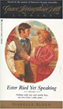 Another cover of the book Ester Ried by Pansy