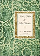 Another cover of the book Italian villas and their gardens by Edith Wharton