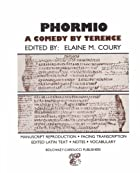 Another cover of the book Phormio by Terence
