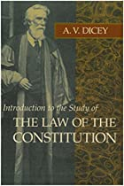 Another cover of the book Introduction to the study of the law of the constitution by Albert Venn Dicey