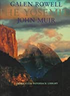 Another cover of the book The Yosemite by John Muir
