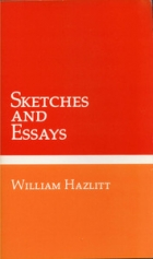 Cover of the book Sketches and essays by William Hazlitt