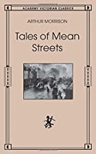 Another cover of the book Tales of mean streets by Arthur Morrison