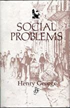 Cover of the book Social problems by Henry George