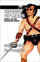 Another cover of the book The Gods of Mars by Edgar Rice Burroughs