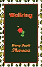Another cover of the book Walking by Henry David Thoreau