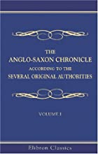 Another cover of the book The Anglo-Saxon Chronicle by Unknown
