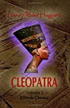 Another cover of the book Cleopatra by H. Rider Haggard