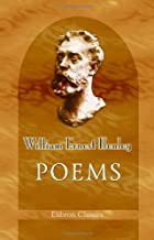 Another cover of the book Poems by William Ernest Henley