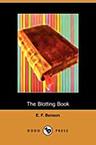 Another cover of the book The Blotting Book by E.F. Benson