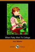 Another cover of the book When Patty went to college by Jean Webster