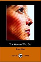Another cover of the book The Woman Who Did by Grant Allen