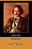 Another cover of the book Seven Men by Max Beerbohm