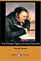 Another cover of the book The Private Papers of Henry Ryecroft by George Gissing