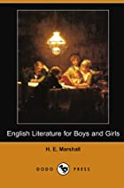 Cover of the book English Literature for Boys and Girls by H.E. Marshall