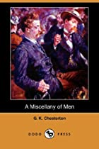 Another cover of the book A miscellany of men by G. K. (Gilbert Keith) Chesterton