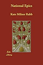 Cover of the book National Epics by Kate Milner Rabb