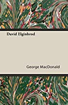 Another cover of the book David Elginbrod by George MacDonald