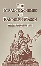 cover for book The Strange Schemes of Randolph Mason